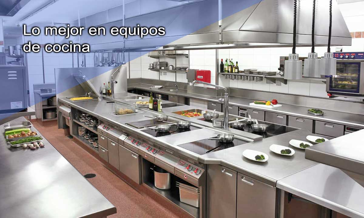Cocina industrial equipamiento equipotecnia comercial - Equipos de cocina ...