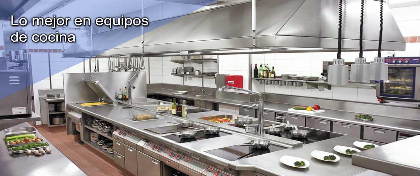 Cocina industrial equipamiento lavadoras industriales per for Menaje de cocina industrial